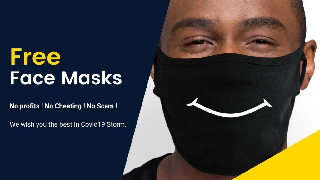 Free Mask Banner 2 - Redo Of Healer Merch
