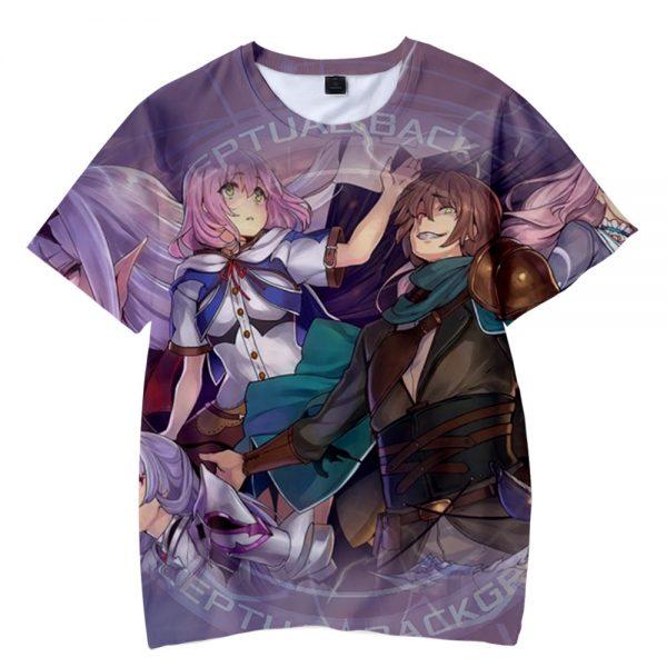 Anime Redo of Healer 3D Print T shirt Men Women Summer Fashion Casual Hip hop Harajuku - Redo Of Healer Merch