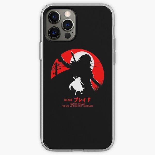 blade - redo of healer new design cool anime iPhone Soft Caseproduct Offical Redo of healer Merch