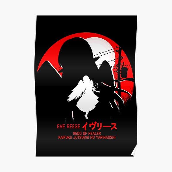 eve - redo of healer new design cool anime Posterproduct Offical Redo of healer Merch