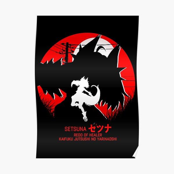 setsuna - redo of healer new design cool anime Posterproduct Offical Redo of healer Merch