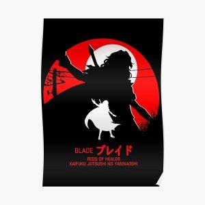 blade - redo of healer new design cool anime Posterproduct Offical Redo of healer Merch