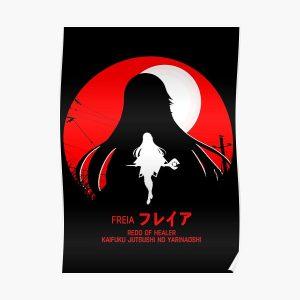 freia - redo of healer new design cool anime Posterproduct Offical Redo of healer Merch