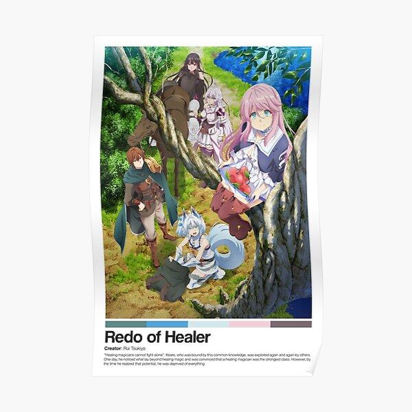 Redo of Healer Anime Poster Print Posterproduct Offical Redo of healer Merch