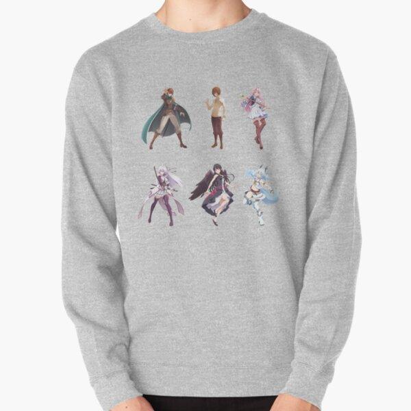 Redo of Healer Character Pack Pullover Sweatshirtproduct Offical Redo of healer Merch