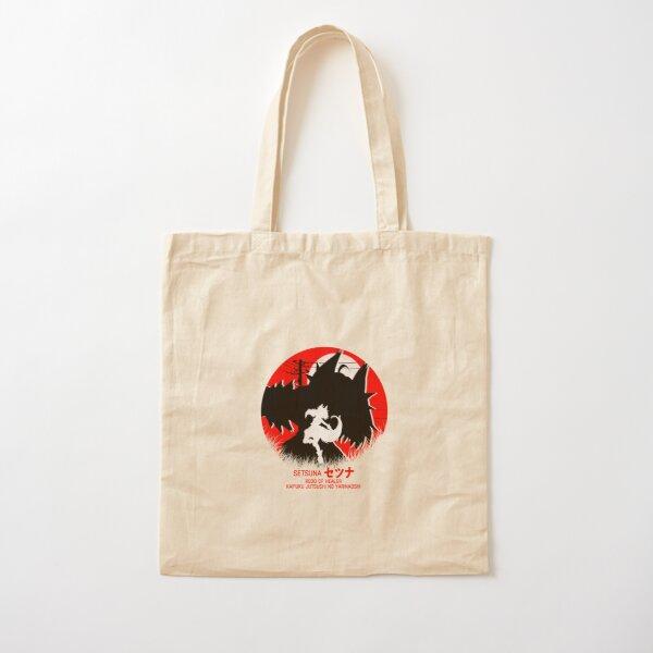 setsuna - redo of healer new design cool anime Cotton Tote Bagproduct Offical Redo of healer Merch