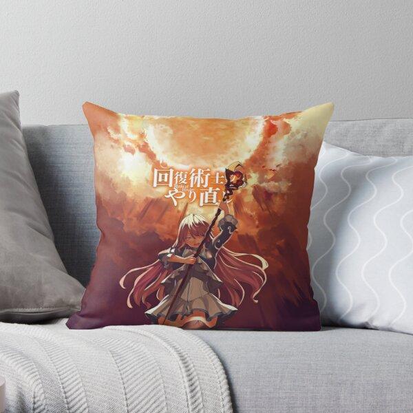 Redo of Healer Flare Throw Pillowproduct Offical Redo of healer Merch