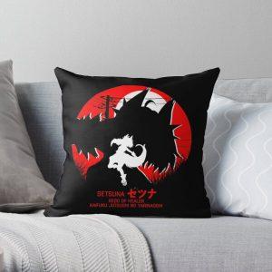 setsuna - redo of healer new design cool anime Throw Pillowproduct Offical Redo of healer Merch