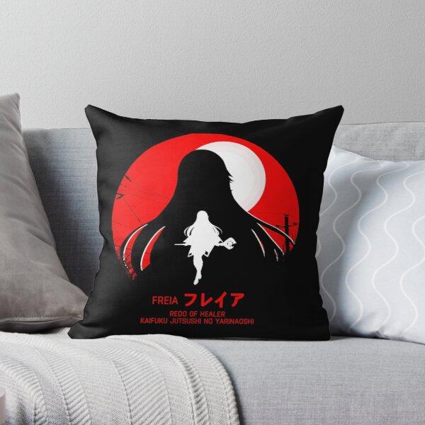 freia - redo of healer new design cool anime Throw Pillowproduct Offical Redo of healer Merch