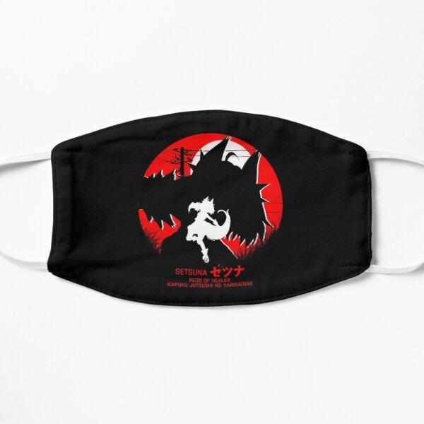 setsuna - redo of healer new design cool anime Flat Maskproduct Offical Redo of healer Merch