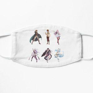 Redo of Healer Character Pack Flat Maskproduct Offical Redo of healer Merch